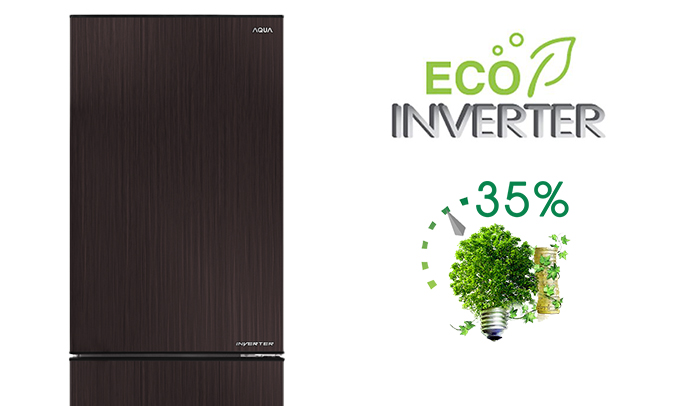 tủ lạnh Aqua AQR-IP350DB (DC) giá tốt