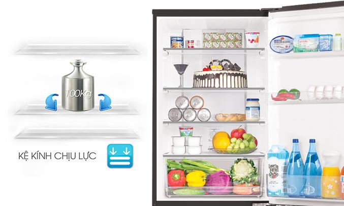 tủ lạnh Aqua AQR-IP350DB (DC) dung tích lớn