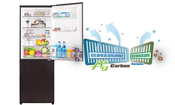 tủ lạnh Aqua AQR-IP350DB (DC)khuyến mãi lớn