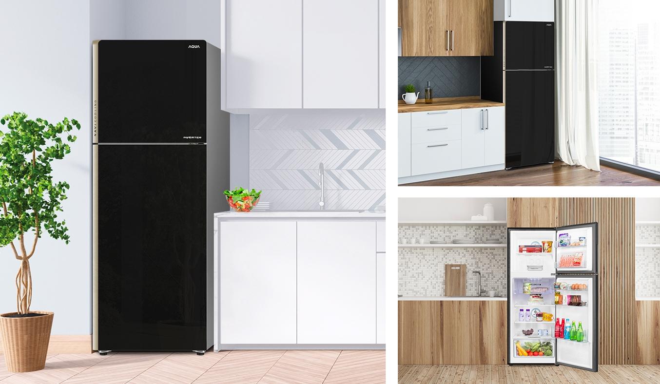 Tủ lạnh Aqua Inverter 235 lít AQR-IG248EN (GB) - Công nghệ Inverter