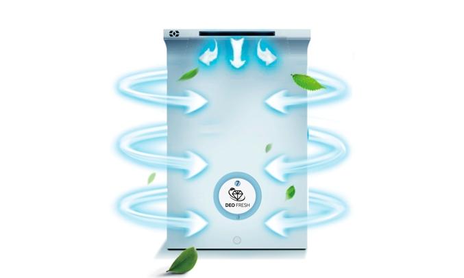 Tủ lạnh Aqua Inverter 235 lít AQR-IG248EN (GB) - Luồng lạnh 360