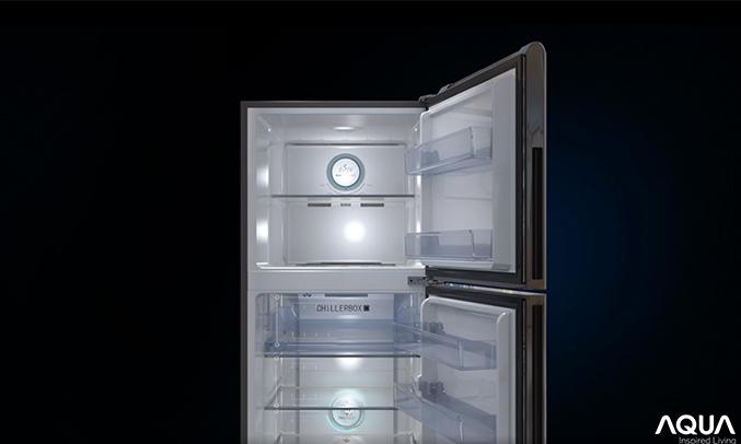Tủ lạnh Aqua Inverter 235 lít AQR-IG248EN (GB) - Dung tích