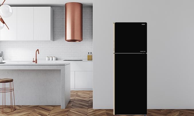 Tủ lạnh Aqua Inverter 235 lít AQR-IG248EN (GB) - Thiết kế