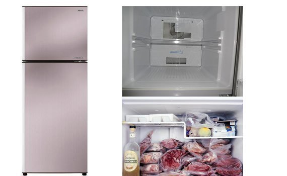 Tủ lạnh Aqua 281 lít AQR-I287BN (PS) dung tích lớn 281 lít