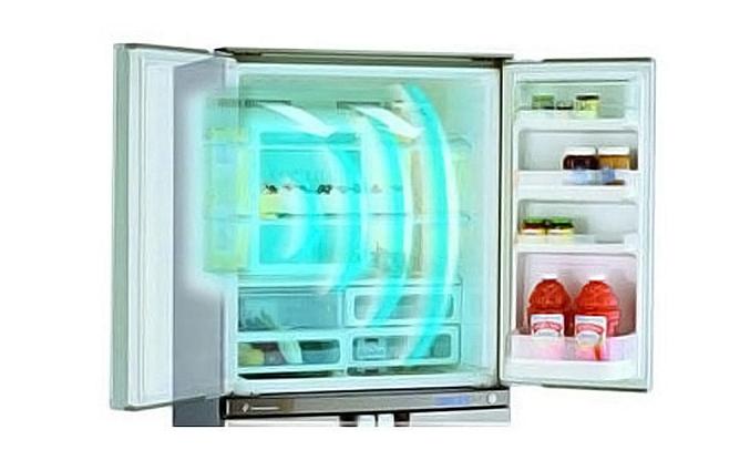 Tủ lạnh Aqua AQR-95AR (SS) làm lạnh trực tiếp