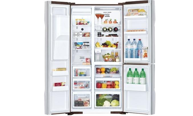 Tủ lạnh Hitachi Inverter 584 lít R-FM800AGPGV4X dung tích 584 lít