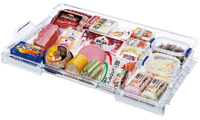 Tủ lạnh Mitsubishi Electric Inverter 506 lít MR-WX52D-BR-V - Ngăn mát dạng trượt