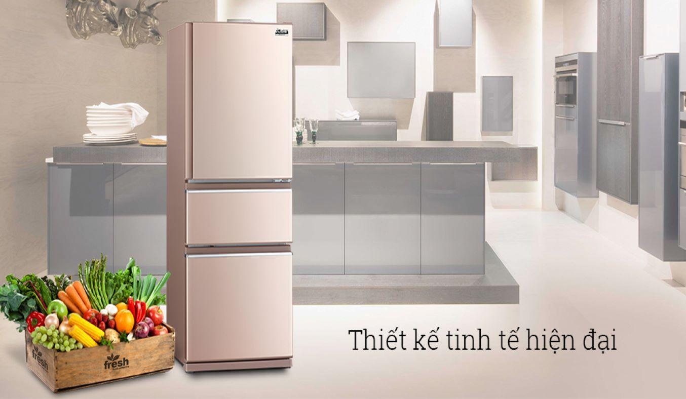 Tủ lạnh Mitsubishi Electric Inverter 358 lít MR-CX46EJ-PS-V