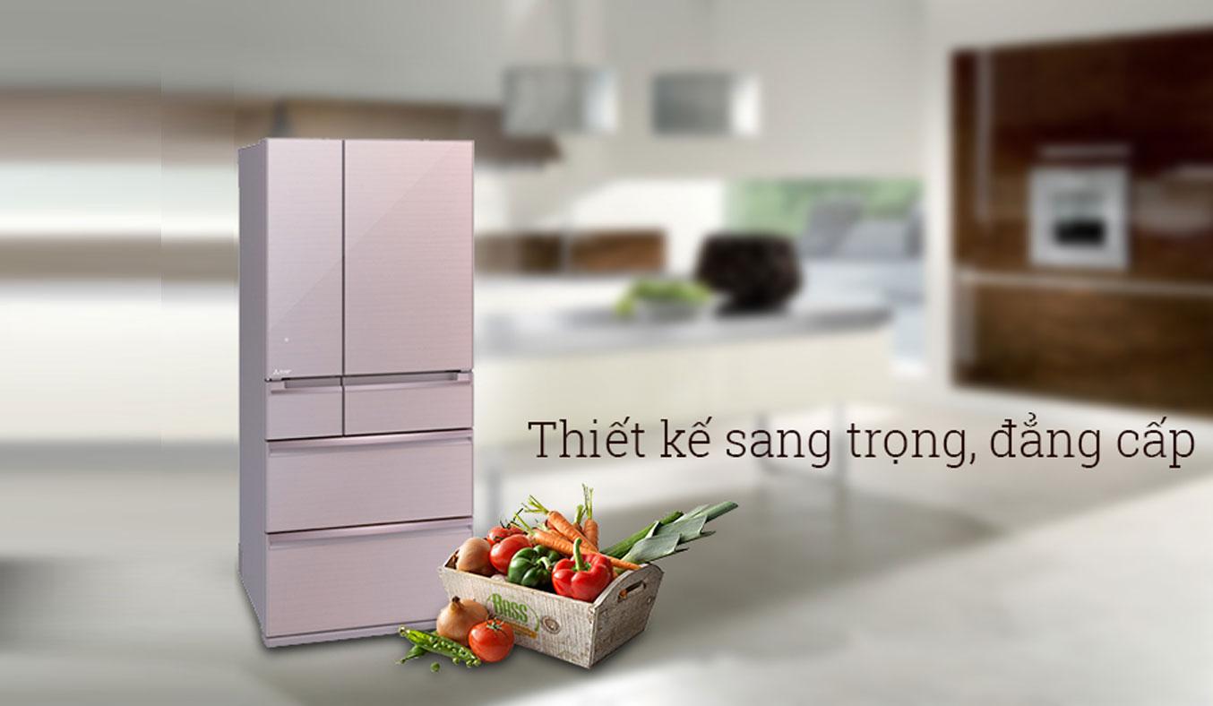 Tủ lạnh Mitsubishi Electric MR-WX71Y 694 lít hệ thống 5 ngăn