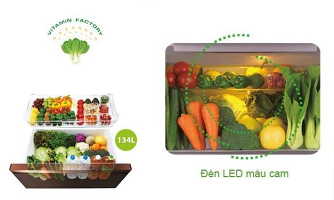 Tủ lạnh Mitsubishi Electric MR-WX71Y 694 lít thoải mái lưu trữ