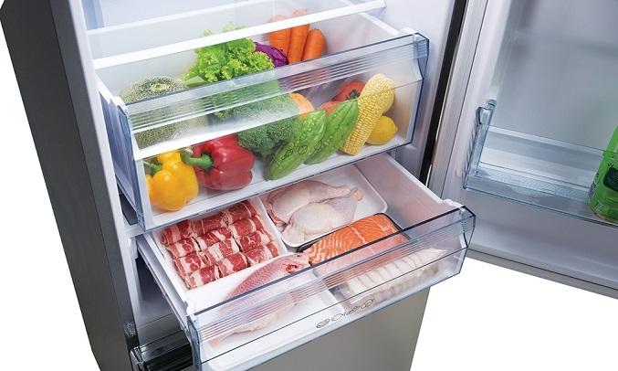 Tủ lạnh Panasonic Inverter 255 lít NR-BV280QSVN - Công nghệ Panorama