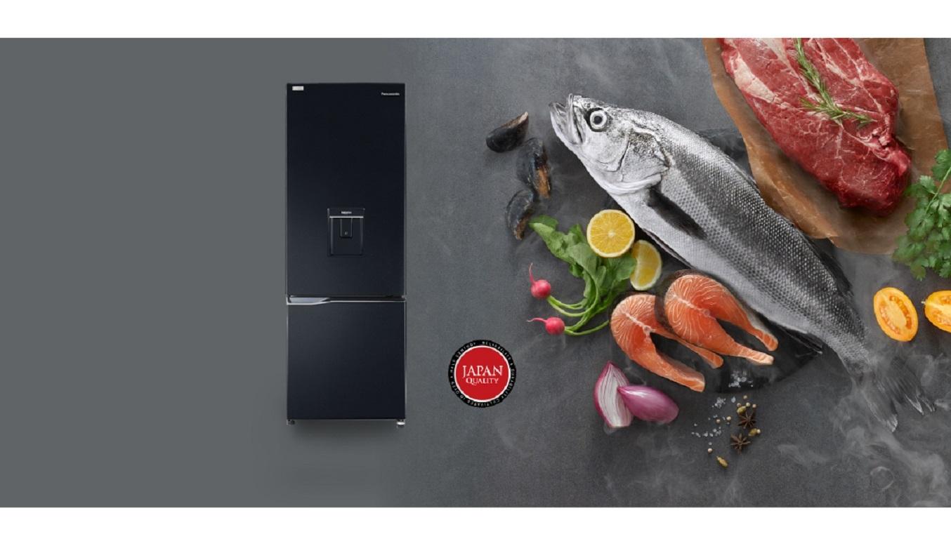 Tủ lạnh Panasonic Inverter 290 lít NR-BV320WKVN - Thiết kế ngăn đá dưới tiện lợi