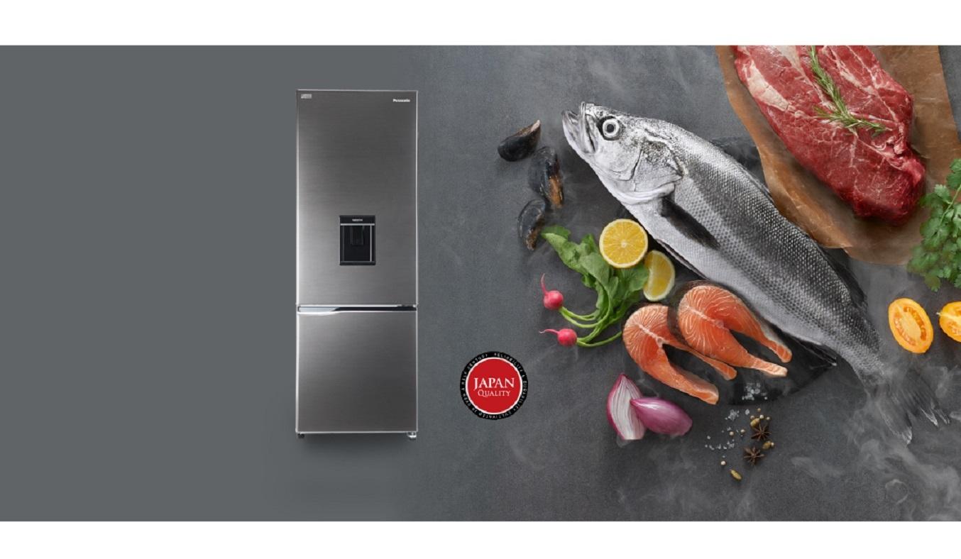 Tủ lạnh Panasonic Inverter 290 lít NR-BV320WSVN - Thiết kế sang trọng