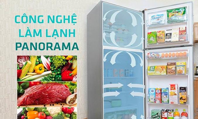 Tủ lạnh Panasonic Inverter 326 lít NR-BL351WKVN -
