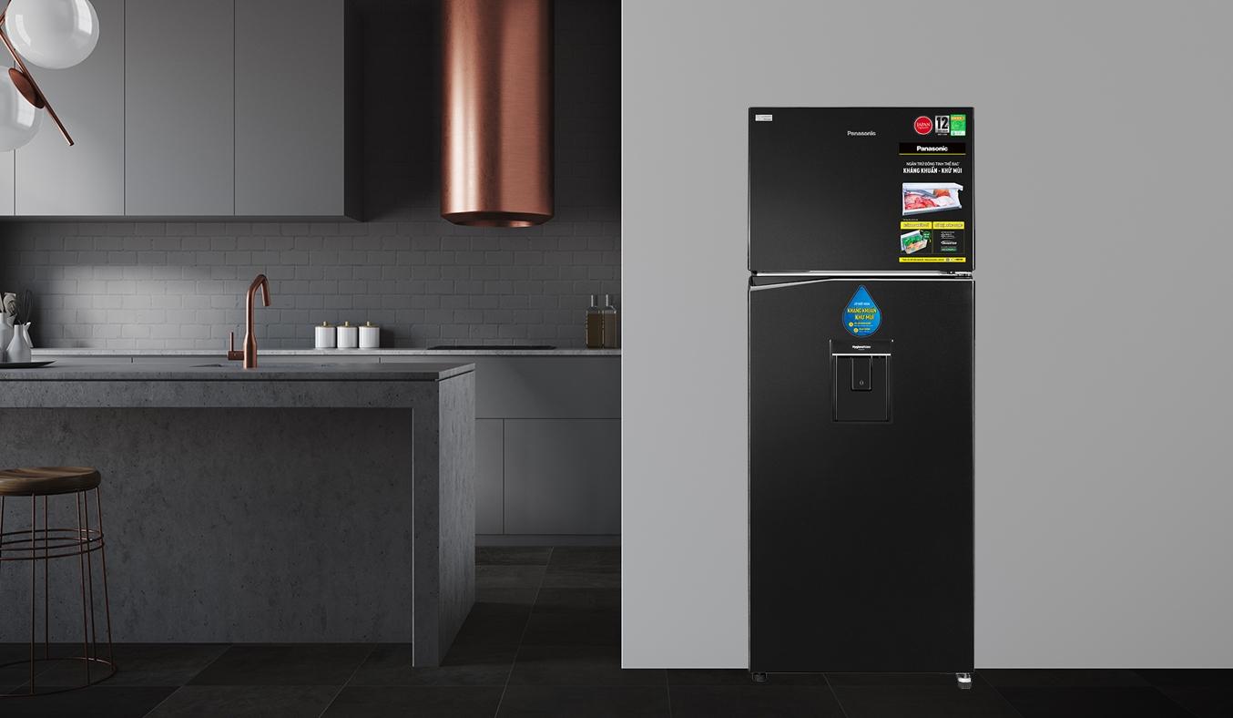 Tủ lạnh Panasonic Inverter 326 lít NR-BL351WKVN - Thiết kế