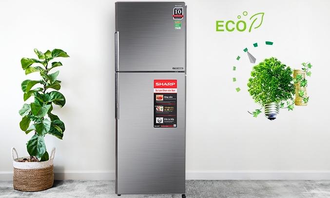 Tủ lạnh Sharp Inverter 314 lít SJ-X316E-DS - Chế độ Extra Eco
