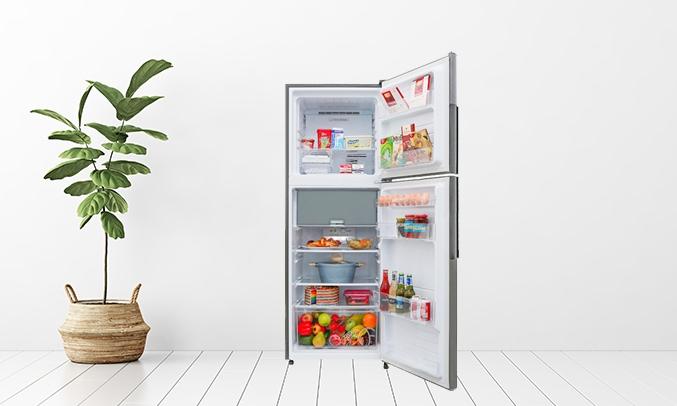 Tủ lạnh Sharp Inverter 314 lít SJ-X316E-DS -