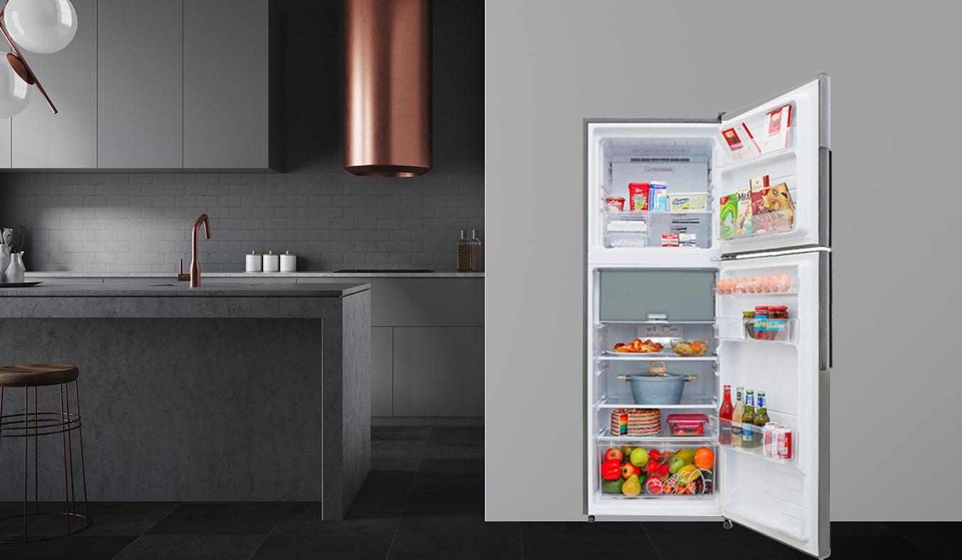 Tủ lạnh Sharp Inverter 314 lít SJ-X316E-DS - khử mùi