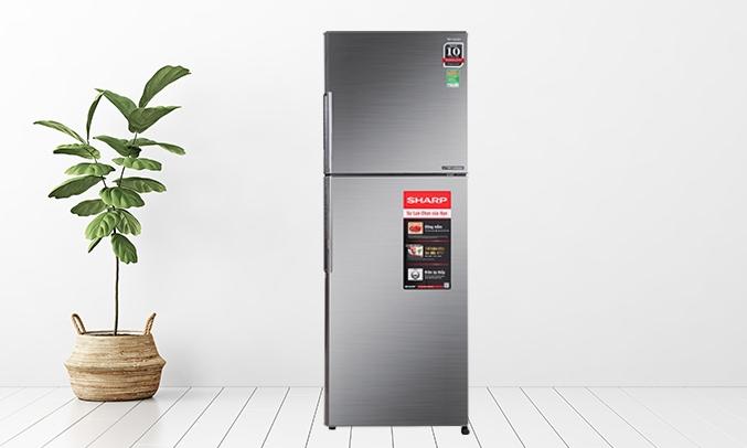 Tủ lạnh Sharp Inverter 314 lít SJ-X316E-DS - Thiết kê