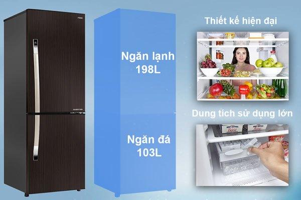 Sự tuyệt vời từ thiết kế cho đến tính năng đã giúp chiếc tủ lạnh ngăn đá dưới của hãng Aqua trở thành lựa chọn hoàn hảo cho gia đình bạn