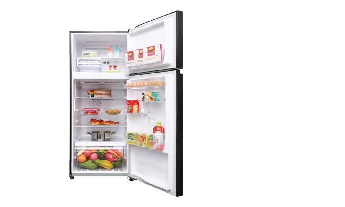 Tủ lạnh Toshiba GR-AG46VPDZ (XK1) - Khay chứa linh hoạt và bảo đảm an toàn