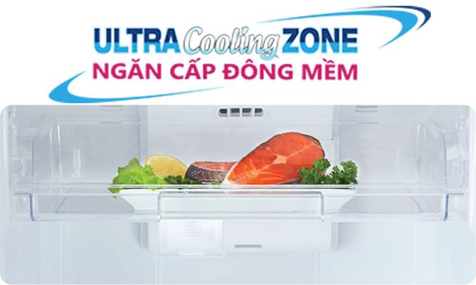 Tủ lạnh Toshiba Inverter 180 lít GR-B22VU (UKG) - Ngăn cấp đông mềm