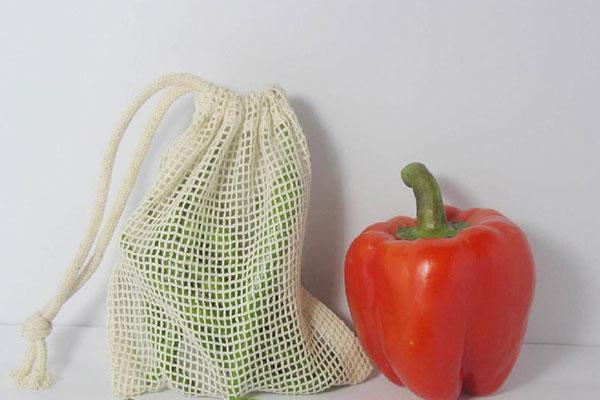 Túi lưới sẽ giúp trái cây được thông thoáng trong môi trường tủ lạnh