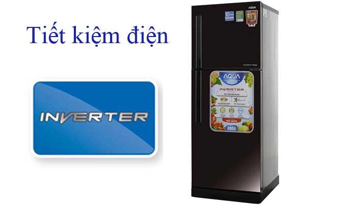 Tủ lạnh hoạt động êm ái, tiết kiệm điện