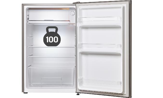 Tủ lạnh Electrolux 92 lít EUM0900SA - Khay kính cường lực bảo quản được lượng thực phẩm lớn