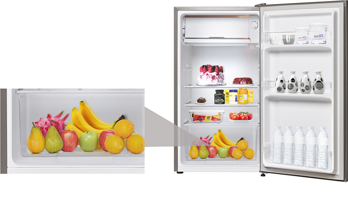 Tủ lạnh Electrolux 92 lít EUM0900SA - Thân thiện môi trường nhờ sử dụng gas R-600A