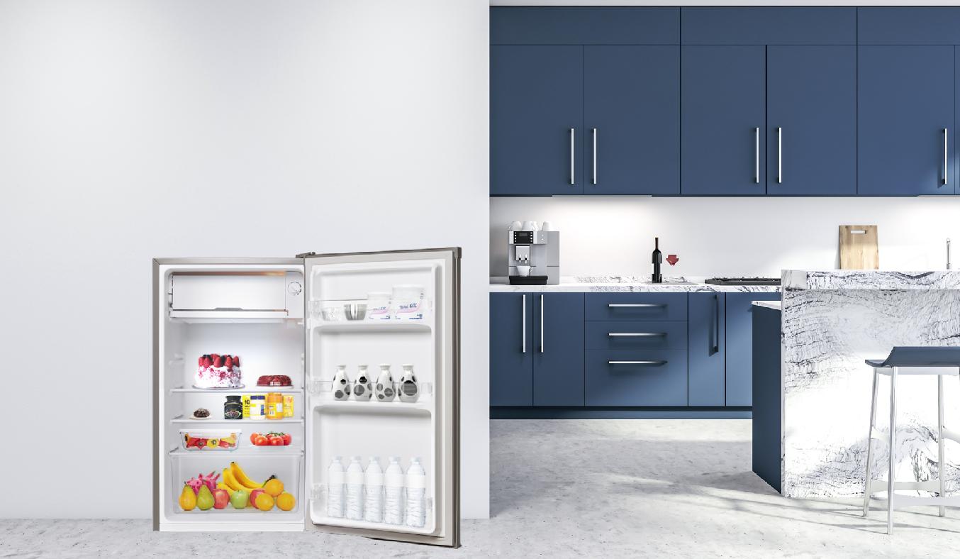 Tủ lạnh Electrolux 92 lít EUM0900SA - Tủ lạnh sở hữu thiết kế nhỏ gọn tiết kiệm diện tích cho căn bếp của bạn