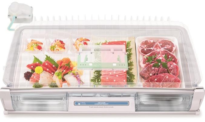 Tủ lạnh Hitachi Inverter 722 lít R-X670GV chống oxy hoá