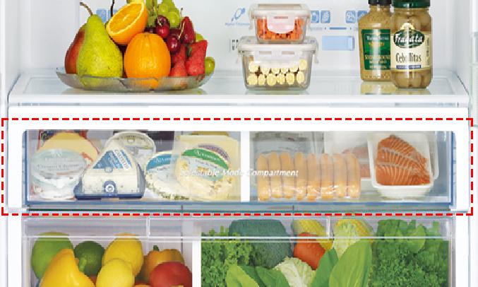 Tủ lạnh Hitachi 510 lít R-FW650PGV8 (GBK) - Ngăn trữ chuyển đổi được