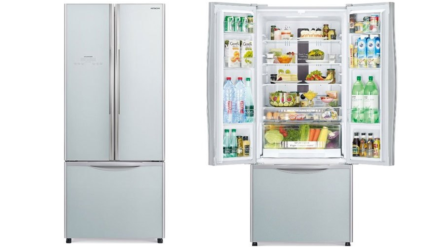 Tủ lạnh Hitachi R-WB545PGV2 455 lít dung tích khủng tiết kiệm điện