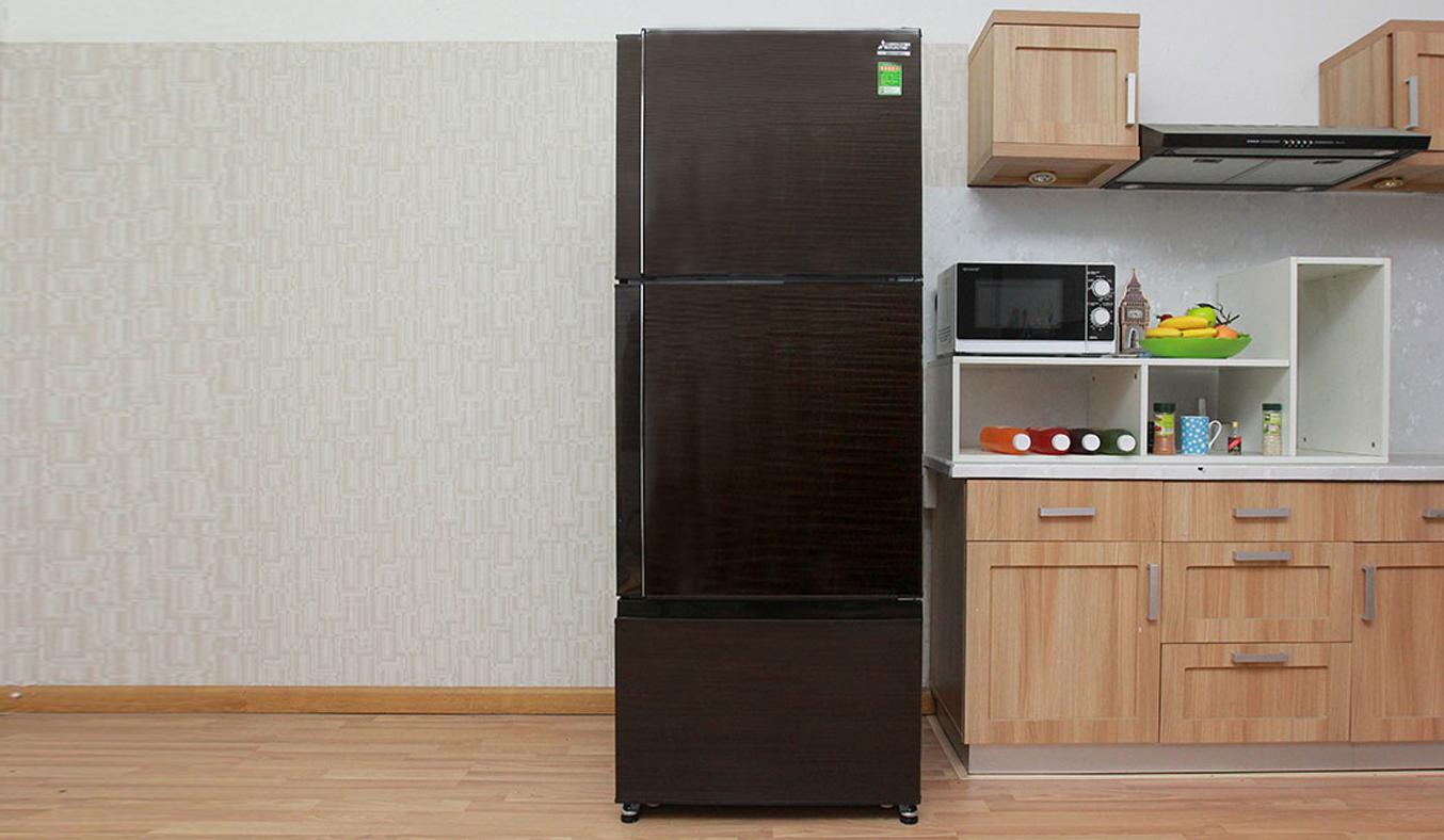 Tủ lạnh Mitsubishi Electric MR-V50EH 414 lít nâu giảm giá tại nguyenkim.com