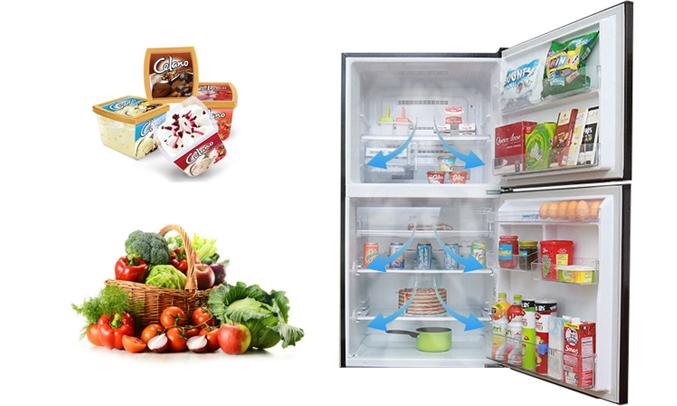 Mua tủ lạnh ở đâu tốt? Tủ lạnh Mitsubishi Electric MR-V50EH 414 lít nâu