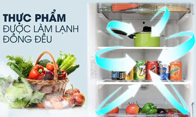 Tủ lạnh Panasonic 271 lít NR-BL308PSVN bảo quản thực phẩm tươi tốt