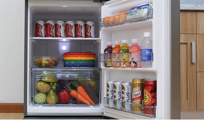 Ngăn rau quả trên tủ lạnh Panasonic NR-BA178VSVN 152 lít kháng khuẩn