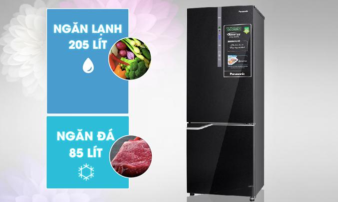 Tủ lạnh có dung tích sử dụng 290 lít