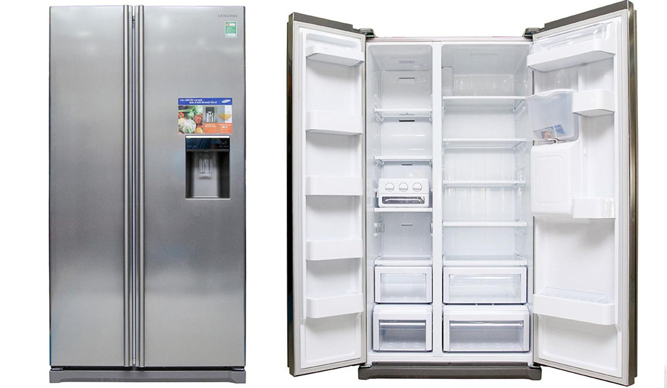 Tủ lạnh Samsung RSA1WTSL1 520 lít là loại tủ lạnh side by side