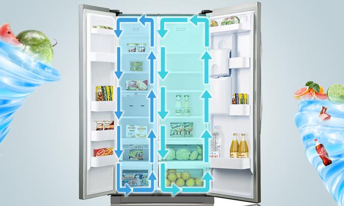 Tủ lạnh Samsung áp dụng công nghệ làm lạnh đa chiều