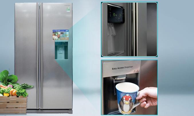 Tủ lạnh Samsung RSA1WTSL1 520 lít có thiết kế ngăn Home Bar