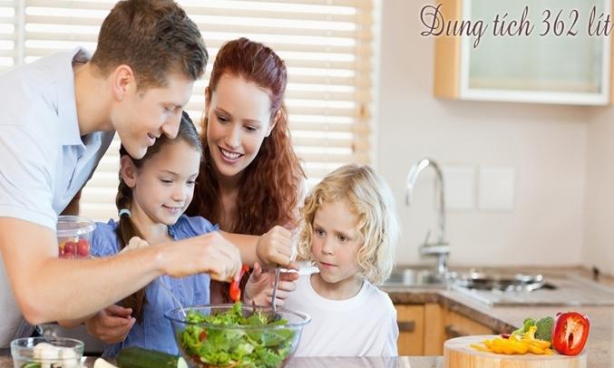 tủ lạnh Samsung RT35K5532S8 362 lít sẽ là sự chọn lựa hoàn hảo cho cả nhà