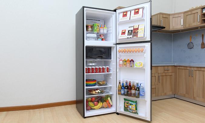 Tủ lạnh Sharp 342 lít SJ-X346E-SL còn được trang bị ngăn giữ tươi linh hoạt