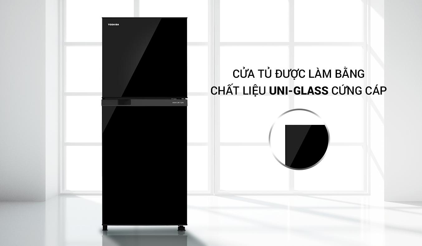Tủ Lạnh Toshiba Inverter 194 lít GR-A25VM (UKG1) hiện đại