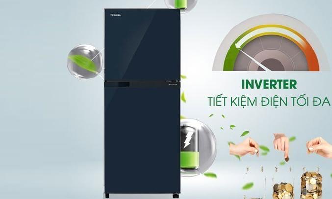 Tủ lạnh Toshiba GR-M28VUBZ(UB) 226 lít xanh đen tiết kiệm điện