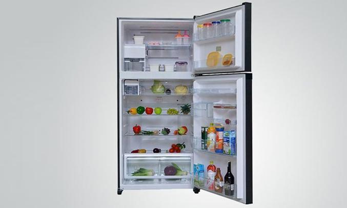 Tủ lạnh Toshiba GR-A28VU (UB) xanh đen khay kính chịu lực bền bỉ