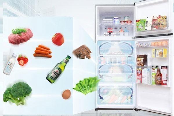 Tủ lạnh Inverter Toshiba - làm lạnh nhanh, kháng khuẩn hiệu quả