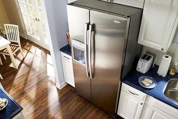 Tủ lạnh đặt bị chênh sẽ không thể hoạt động hiệu quả