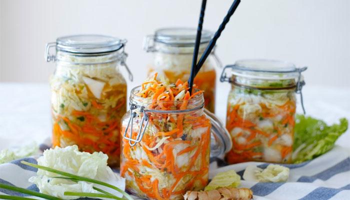 Thực phẩm muối chua có hương vị thơm ngon